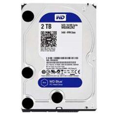 هارد Western Digital 2TB 64MB Blue WD20EZRZ Internal Hard Drive