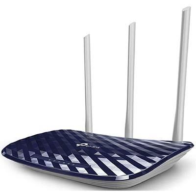 مودم روتر +ADSL2 بیسیم AC750 تی پی لینک مدل Archer C20