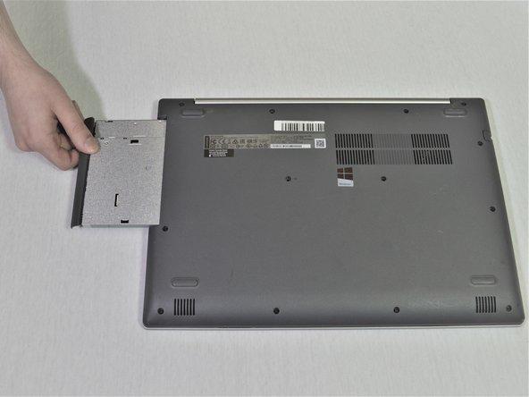تعویض هارد لپ تاپ Ideapad 320-15ABR - مرحله سوم