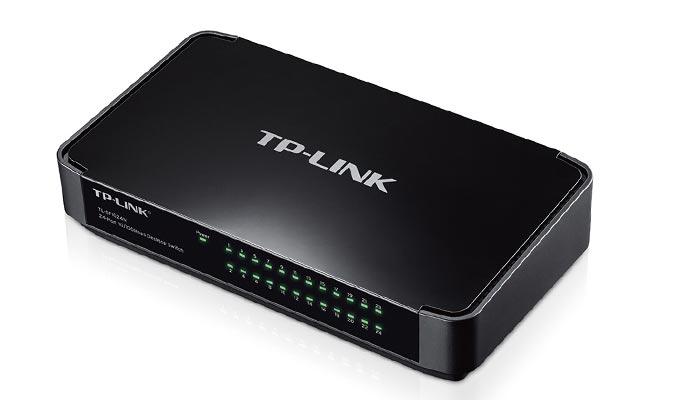 سوییچ دسکتاپ فست اترنت 24 پورته تی پی لینک مدل TL-SF1024M