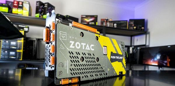 کارت گرافیک Zotac GeForce GTX 1070