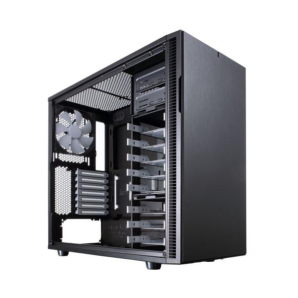 کیس کامپیوتر Fractal Design Define R5 بهترین کیس کامپیوتر مینیمال
