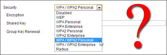 انواع رمزگذاری امنیتی وای فای (Wi-Fi)