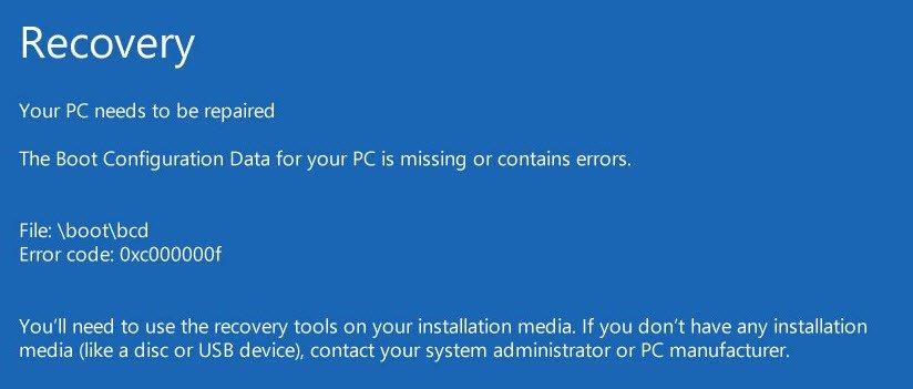 7 روش حل مشکل Windows Error Recovery در لپ تاپ