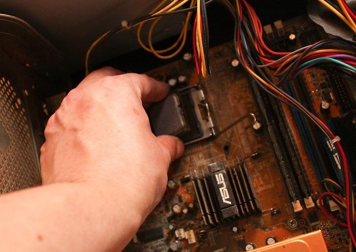 نحوه نصب پردازنده 3