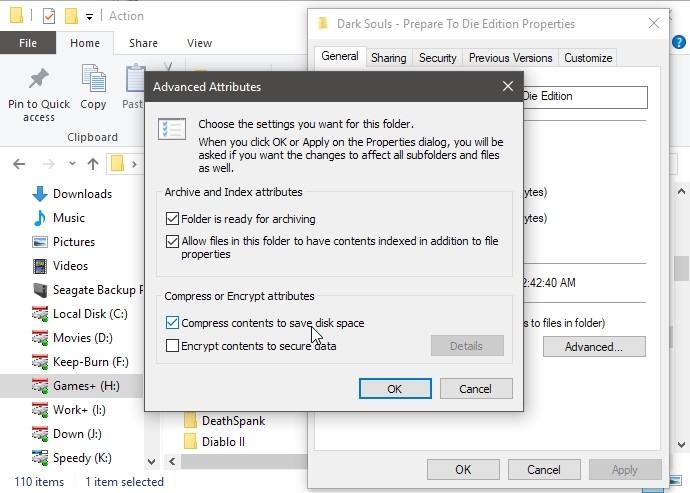 افزایش فضای هارددیسک با CompactGUI