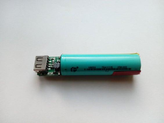 تعویض باتری پاوربانک