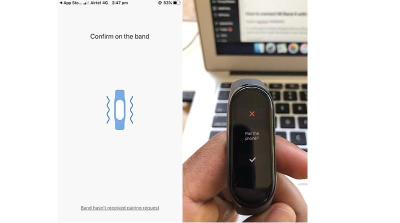 آموزش تصویری اتصال ساعت Mi Band 4 به دستگاه اندروید و آیفون