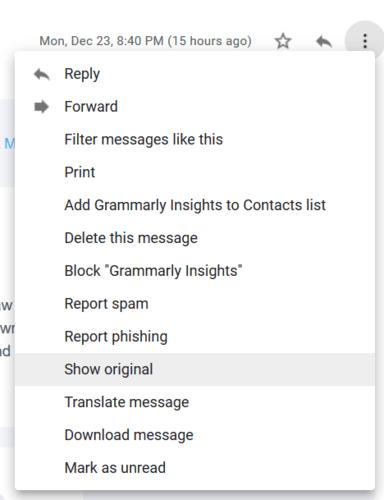 ردیابی ایمیل