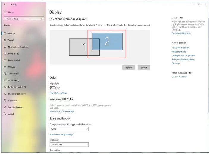 استفاده از دو یا چند مانیتور در ویندوز 10 بدون استفاده از نرم افزارهای جانبی
