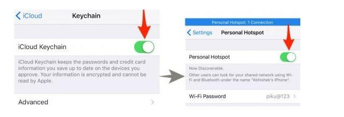 4 روش پیدا کردن رمز عبور وای فای فراموش شده گوشی iPhone
