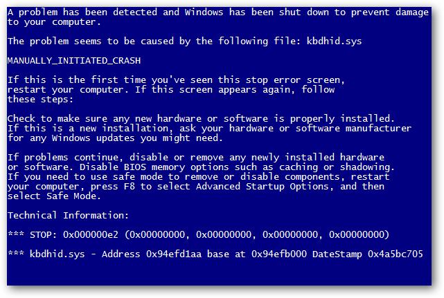BSOD یا صفحه آبی مرگ چیست؟ علل نمایش صفحه آبی مرگ در ویندوز
