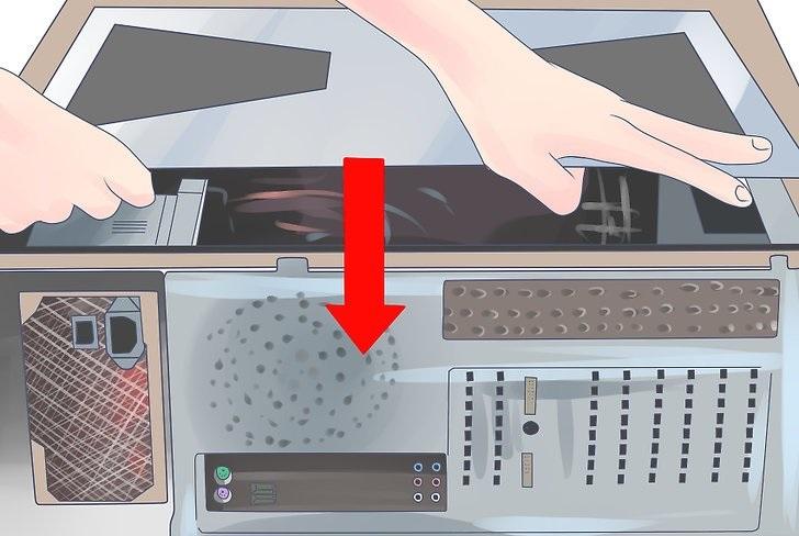 تست ولتاژ خروجی پاور کامپیوتر