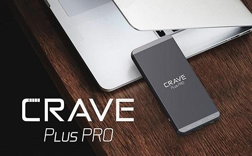 Crave Plus PRO Aluminum Portable Charger with 20000mAh