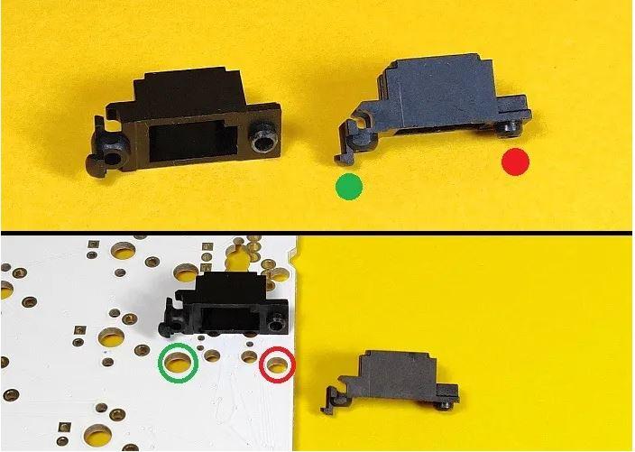 نصب تثبیت کننده و سوار کردن آن روی PCB