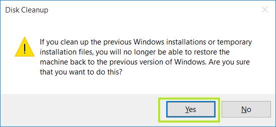 نحوه پاک کردن پوشه Windows.old در ویندوز 10