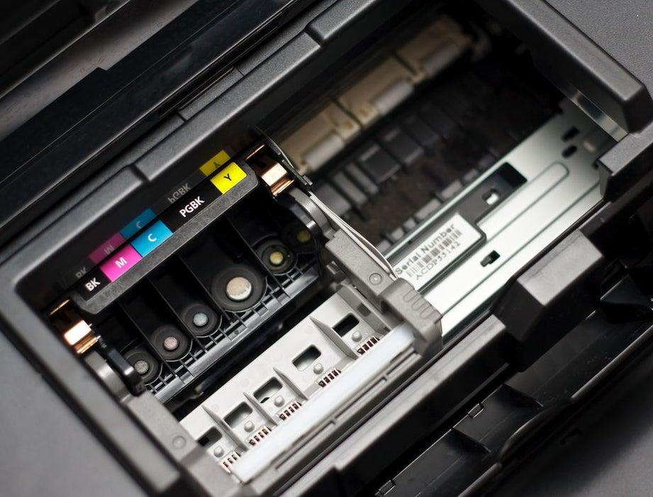 نحوه تمیز کردن هد چاپگر جوهر افشان خشک شده
