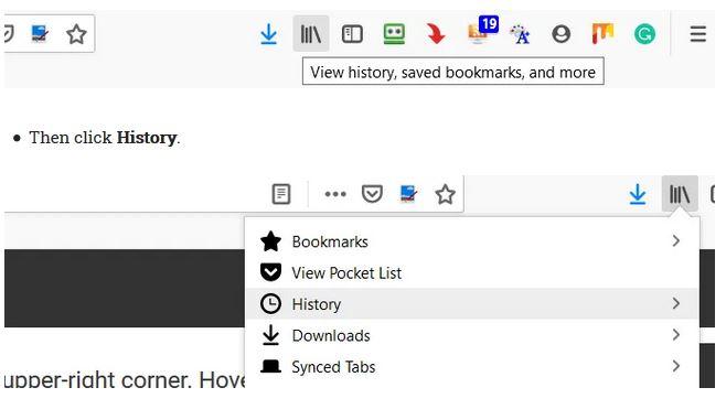 مشاهده History مرورگر و نظارت بر سایتهای مشاهده شده