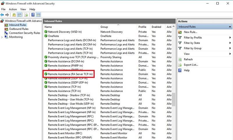 نحوه حل ارور 0x104 برنامه Remote Desktop در ویندوز 10