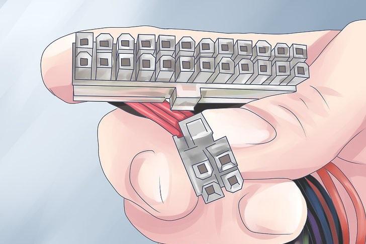 آموزش روشهای تست منبع تغذیه یا پاور کامپیوتر