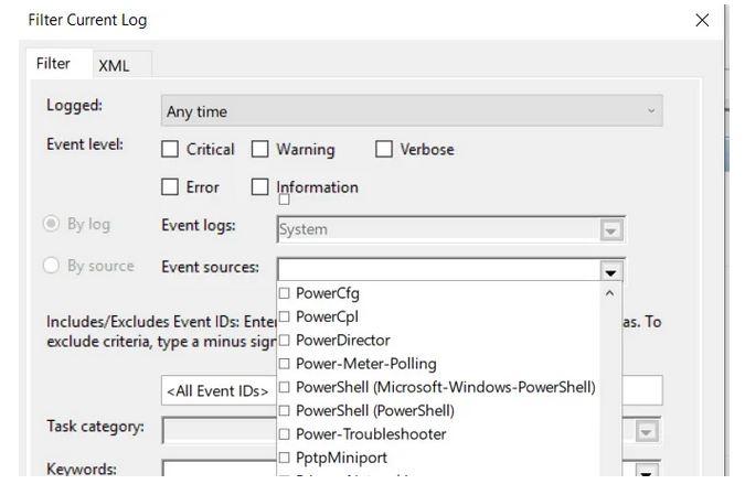 استفاده از Windows Events