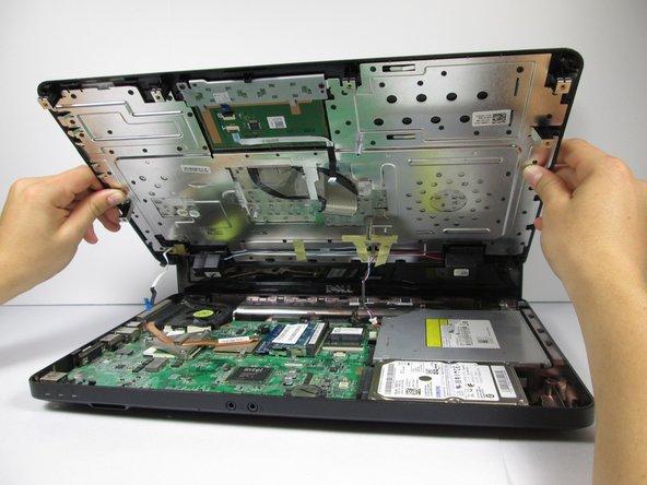 آموزش تعویض درایو CD RW لپ تاپ Dell Inspiron N5030