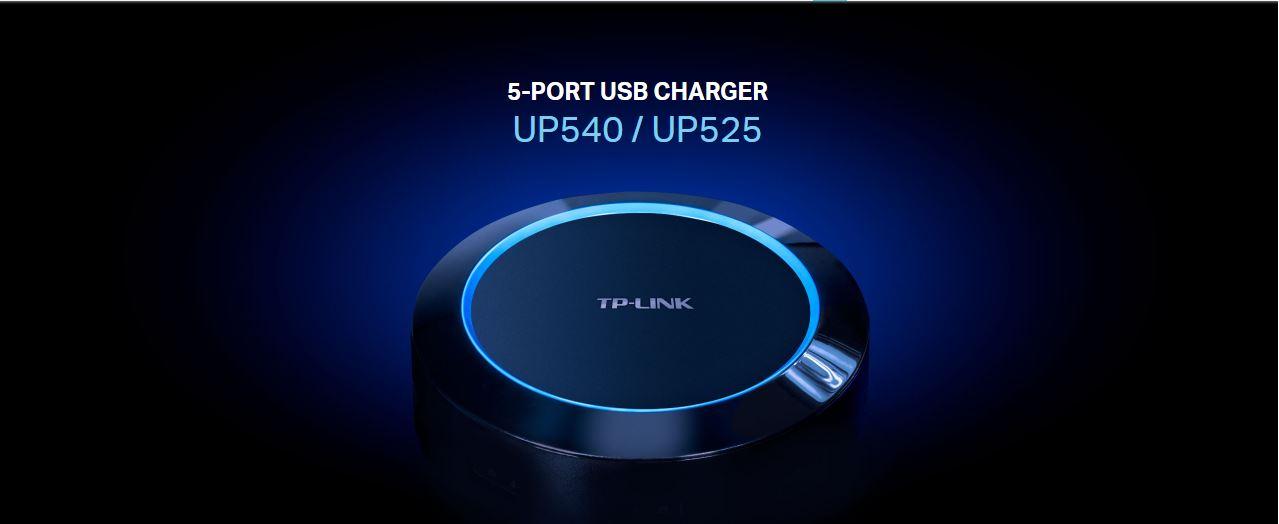 شارژر USB پنج پورت تی پی لینک مدل TP-Link UP540