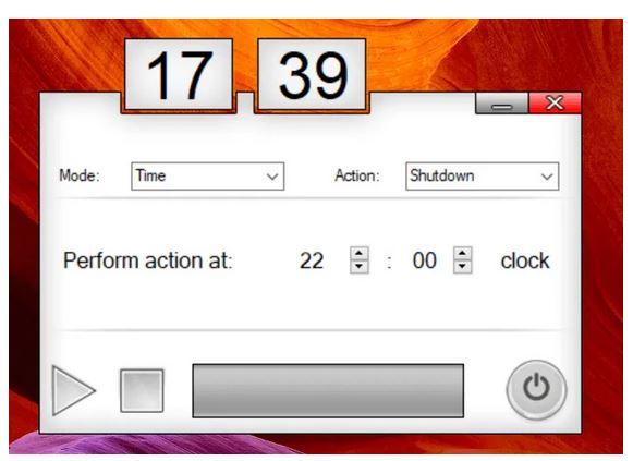 نرم افزار خاموش کردن خودکار کامپیوتر sleep timer