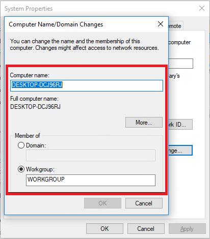 انتقال فایل بین دو کامپیوتر با استفاده از کابل شبکه LAN