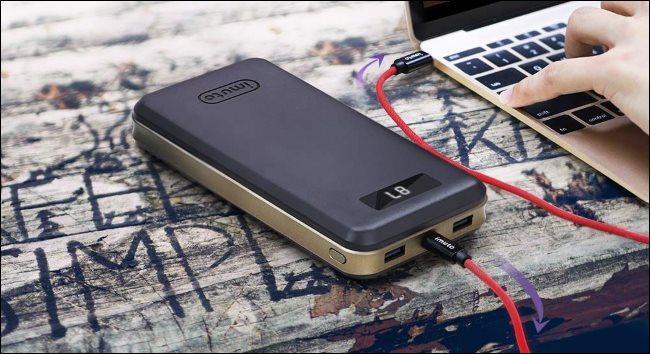 با استفاده از پاوربانک یا شارژر همراه لپ تاپ خود را شارژ کنید!