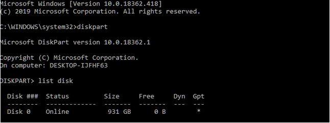 آموزش تبدیل دیسک دینامیک (Dynamic) به دیسک بیسیک (Basic)