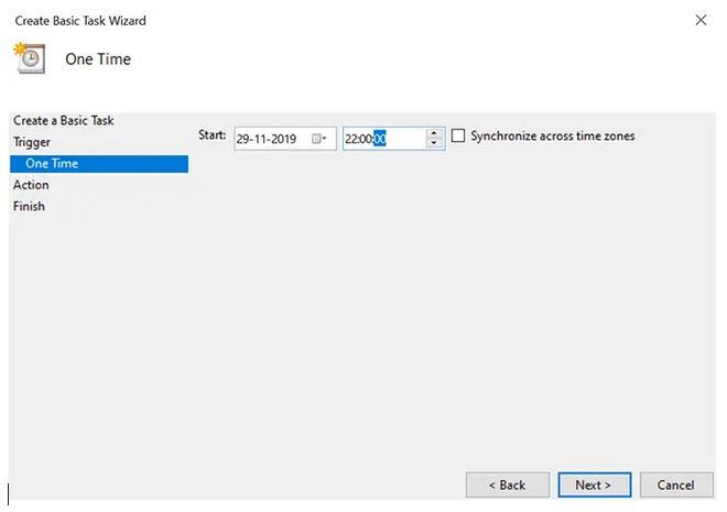 خاموش کردن خودکار کامپیوتر در زمان مشخص و با استفاده از task scheduler