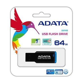 فلش مموری ای دیتا مدل UV140 ظرفیت 64 گیگابایت ADATA