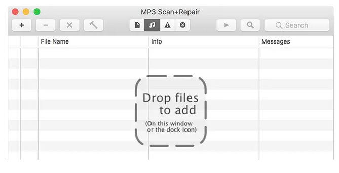 رفع مشکل فایل MP3 با استفاده از برنامه ی scan + repair