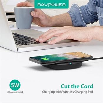 شارژر بی سیم راو پاور مدل RavPower RP-PC072