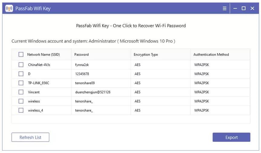 20 برنامه عالی برای پیدا کردن رمز وای فای فراموش شده در اندروید، آیفون، مک و ویندوز