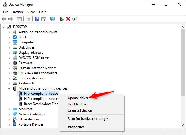 حل مشکل کار نکردن دکمه سمت چپ ماوس به صورت نرم افزاری