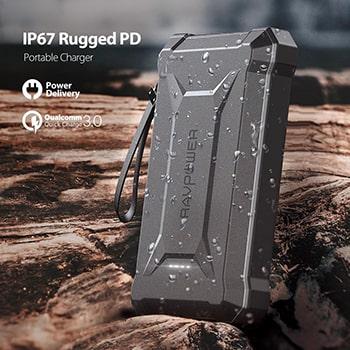شارژر همراه راوپاور مدل RAVPower RP-PB097 ظرفیت 20100 میلی آمپر ساعت