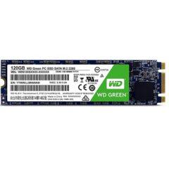 هارد SSD M.2 SATAT اینترنال وسترن دیجیتال WDS120G1G0B با ظرفیت 120 گیگابایت