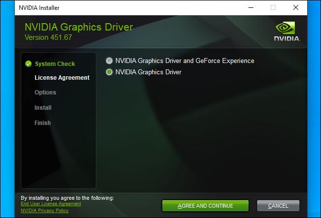 نحوه دانلود درایورهای کارت گرافیک NVIDIA بدون استفاده از GeForce Experience