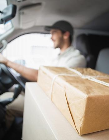ارسال محلی بسته پستی