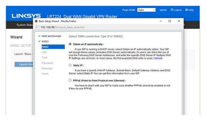 طراحی و نصب روتر Linksys LRT224