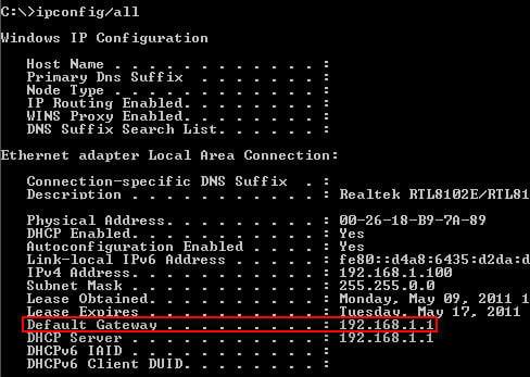 پیدا کردن آدرس IP روتر برای شخصی سازی و تنظیمات امنیتی
