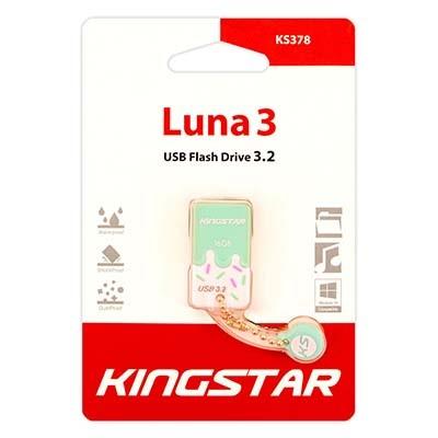 فلش مموری کینگ استار مدل 3.2 KS378 LUNA ظرفیت 16 گیگابایت