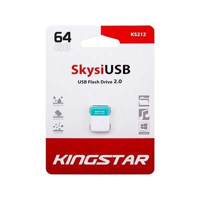 فلش مموری USB 2.0 کینگ استارمدل KS212 Skysi ظرفیت 64 گیگابایت
