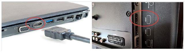چگونه با استفاده از کابل HDMI لپ تاپ خود را به تلویزیون وصل کنم؟