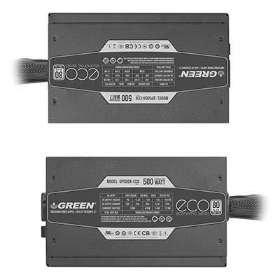 پاور کامپیوتر گرین مدل GP500A-ECO Rev3.1