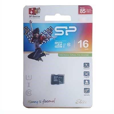 کارت حافظه MicroSDHC سیلیکون پاور مدل Color Elite کلاس ۱۰ استاندارد UHS-I U1 سرعت ۸۵MBps ظرفیت 16 گیگابایت