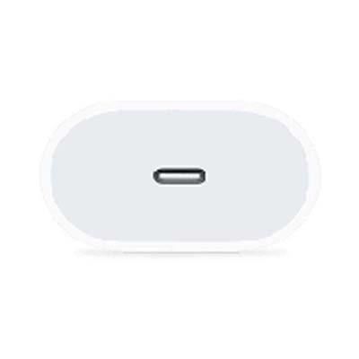 شارژر دیواری 18 وات اپل مدل MU7V2ZM/A به همراه کابل تبدیل USB-C به لایتنینگ