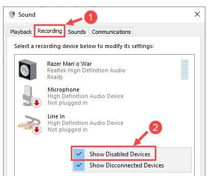آموزش 4 روش حل مشکل کار نکردن میکروفون در ویندوز 10